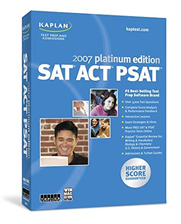 Kaplan SAT/ACT/PSAT 2007 Platinum Edition [Old Version]