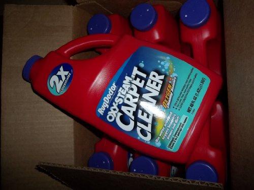 Case Of Rug Doctor Oxy-Steam Carpet Cleaner 6-48 Fl Oz (6X1.5Qt) Bottles