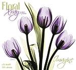 Floral X-Ray Wall Calendar (2015)