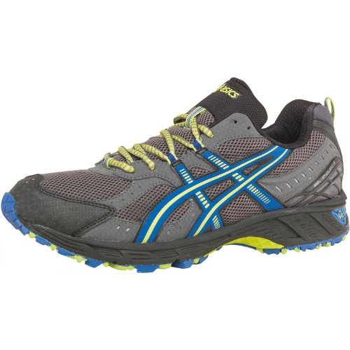 Asics Mens Gel Enduro 8 Trail Running Shoes Grey/Blue/Lime