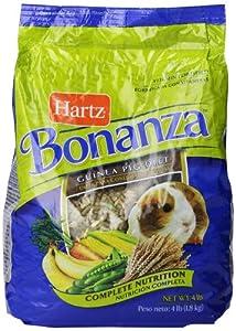 Hartz Bonanza 4-Pound Gourmet Diet Supply, Guinea Pig