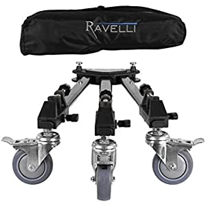 Ravelli ATD Professional Tripod Dolly for Camera Photo Video