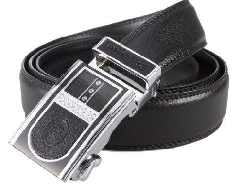 90级腰带扣图纸-牛皮男士自动扣皮带09