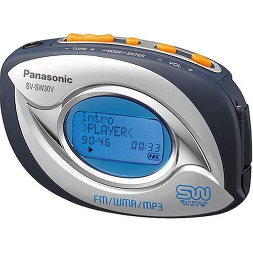 Panasonic Shockwave SVSW30V 256MB MP3 Player with FM Tuner