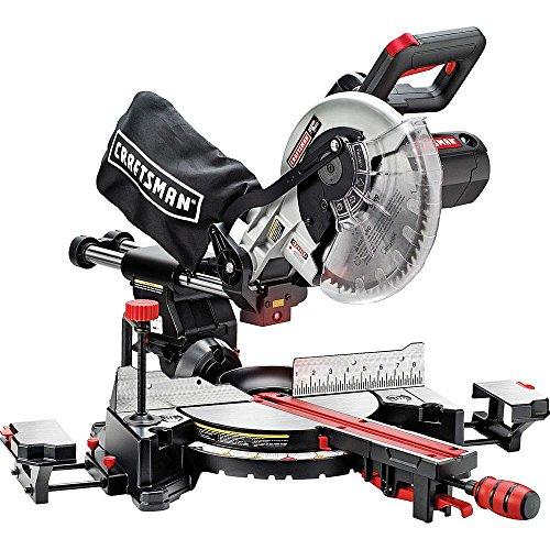 "Craftsman 10"" Single Bevel Sliding Compound Miter Saw (21237) front-608237"