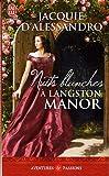 echange, troc Jacquie D'Alessandro - Nuits blanches à Langston Manor