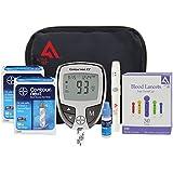 Diabetes Testing Kit (Bayer Contour NEXT EZ Meter + 100 Bayer Contour NEXT Test Strips + 100 Active1st 30g Lancets + Lancing Device + Contour NEXT Control Solution)