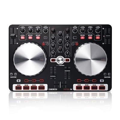 Reloop Beatmix Beginner-Friendly DJ Controller for Virtual DJ, Black (BEATMIX)