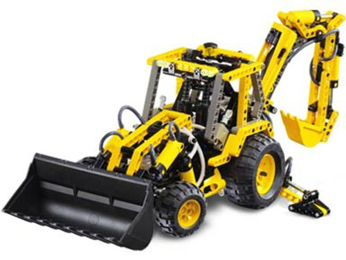 LEGO Make  &  Create Technic 8455: Back Hoe Loader