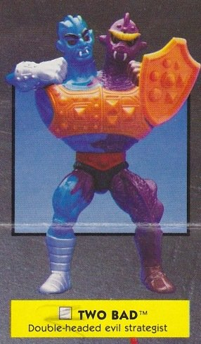 Buy Low Price Mattel Vintage 1980s Master's of the Universe Two Bad Action Figure MOTU 100% Complete (B0046L7ERG)