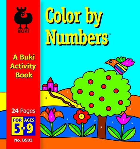 Buki Small Activity Book COLOR BY NUMBERS (B503) - 1