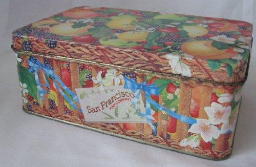 San Francisco Soap Company Fruit Tin Collectible