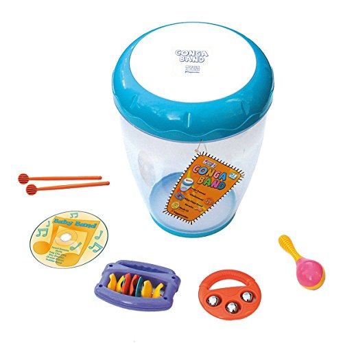 VOGGENREITER-Conga-Band-Musik-Spielzeug-mehrfarbig
