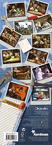 The Official Wallace and Gromit 2016 Slim Calendar