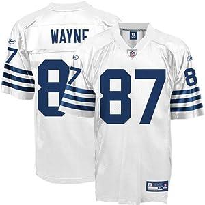 Reebok Indianapolis Colts Reggie Wayne Replica Alternate Jersey by Reebok