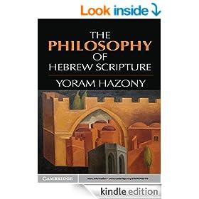The Philosophy of Hebrew Scripture