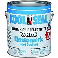 Kool Seal KST063300-16 White Elastomeric Roof Coating-GAL ELASTOMRC RF COATING