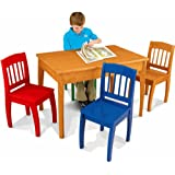 KidKraft Euro Honey Table and 4 Chairs