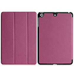 MoKo Apple iPad Mini with Retina Display Case - Ultra Slim Lightweight Smart shell Cover Case for Mini 2 (2013) and Mini (2012 Edition) PURPLE