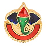 Acrylic Lord Ganesh Shape Kum-kum Box for marriage indian traditional function