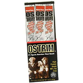 Set A Shopping Price Drop Alert For Ostrim High Protein Snack, Beef & Ostrich, Natural Flavor, 1.5-Ounce Sticks (Pack of 20)