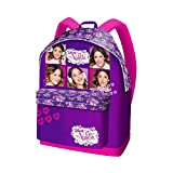 Disney Violetta Backpack for School and Free Time - Fancy Collage