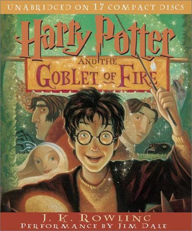 J.K. Rowling: Harry Potter and the Goblet of Fire (audio)