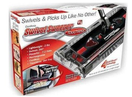 Cordless Swivel Sweeper Touchless NEW AND IMPROVED!