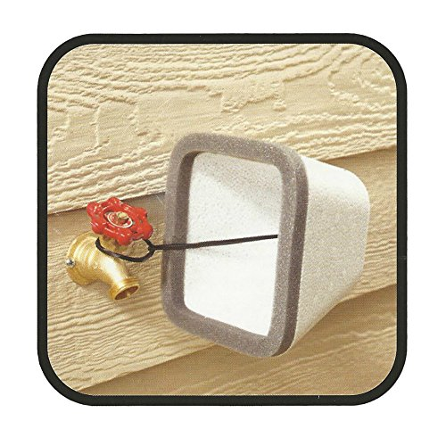 Insulating Outdoor Faucet Cover For Freeze Protection 2