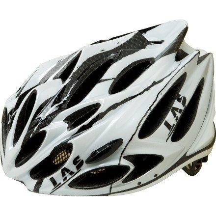 LAS Squalo Helmet 1.0 White/Carbon/Silver, S/M