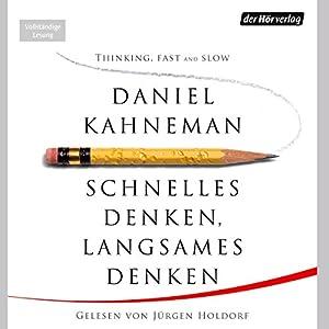 """Daniel Kahneman – """"Schnelles Denken, langsames Denken"""""""
