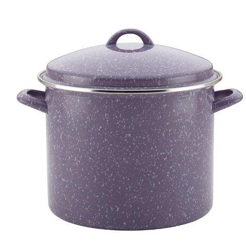 paula-deen-enamel-on-steel-covered-stockpot-12-quart-lavender-speckle