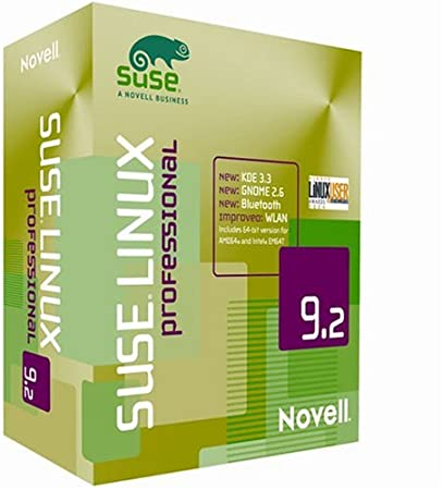 SuSE Linux Professional 9.2 Upgrade [Strong Encryption 128 Bit]