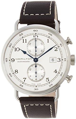 [ハミルトン]HAMILTON 腕時計 カーキ ネイビー パイオニア オートクロノ 10気圧防水 H77706553 メンズ 【正規輸入品】