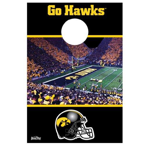 Miraculous Iowa Hawkeyes Kinnick Stadium Bean Fling 1 Bean Bag Pabps2019 Chair Design Images Pabps2019Com