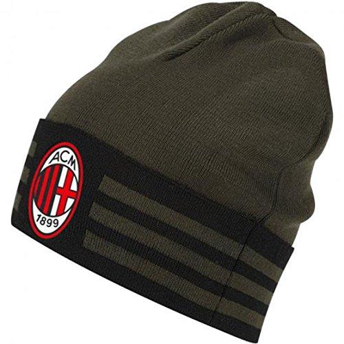 Adidas Acm 3 Wooli AC Milan Berretto - Verde (Carnoc/Nero) - OSFM