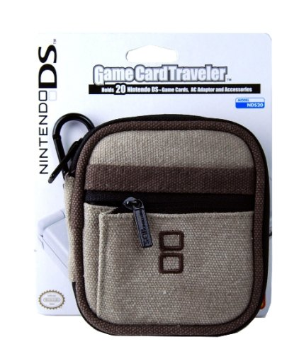 Dsi/DSLite Nintendo Game Card Traveler - Brown