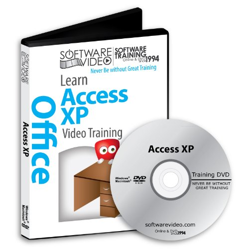 Software Video Learn Access Xp Training Dvd Sale 60% Off Training Video Tutorials Dvd Over 5 Hours Of Video Training