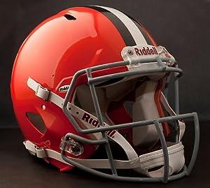 CLEVELAND BROWNS NFL Riddell Revolution SPEED Football Helmet by ON-FIELD