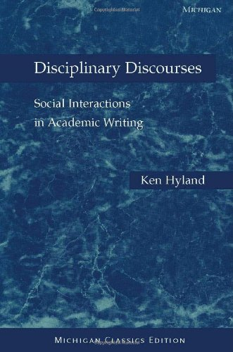 Disciplinary Discourses: Social Interactions in Academic...