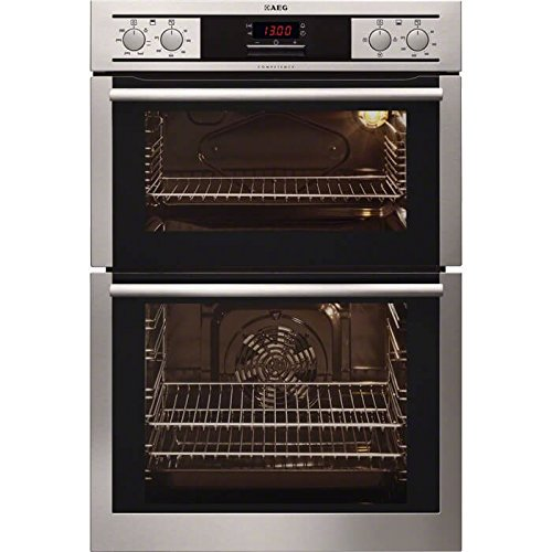 AEG DE4013001M Built In Double Electric Oven Stainless Steel