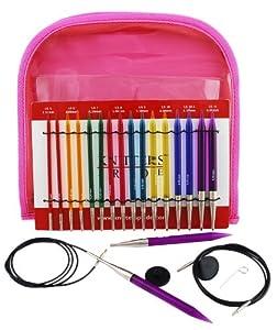 KnitPro 50618 Nadelspitzen Set Spectra Trendz Multicolor Deluxe