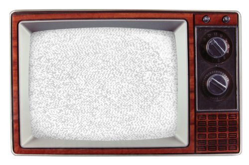 Retro 60s/70s Wooden TV photo Frame