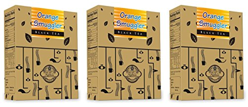 Teas Of All Nations Orange, Spices Tea Black Tea (50 G, Box) Pack Of 3