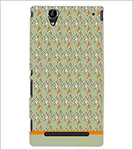 PrintDhaba Pattern D-1605 Back Case Cover for SONY XPERIA T2 ULTRA (Multi-Coloured)