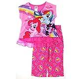 My Little Pony Girls Pink Poly Pajamas