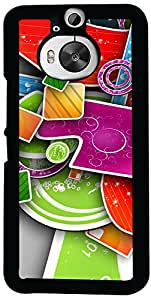 Printvisa Pattern Abstract Case Cover for HTC One M9+ (2D-HTCM9+-D7943)