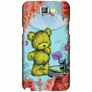 Printland Designer Back Cover For Samsung Galaxy Note 2 N7100 - Skulled Cases Cover