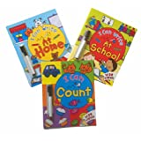 I Can Write - 3 books - Wipe Clean books with free pens (I Can Write at Home / I Can Write At School / I Can Count �11.97)by Kingfisher
