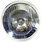 "High Performance 7"" Inch Headlight for Harley Uses H4 Bulb Non-Sealed 6012/6014/6015/H6017/H6024"